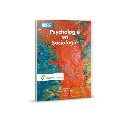 Psychologie en sociologie - Ella Wijsman, Wouter Molendijk (ISBN: 9789001875633)