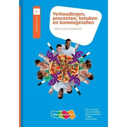 Verhoudingen, procenten, breuken en kommagetallen - Jos van den Bergh (ISBN: 9789006955378)