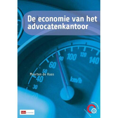 De economie van het advocatenkantoor - Maarten de Haas (ISBN: 9789012392303)