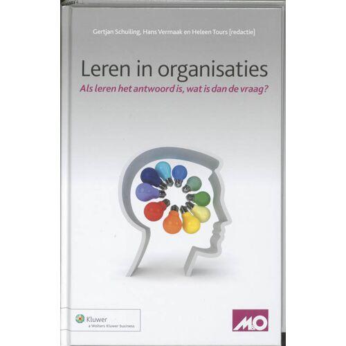 Leren in organisaties - (ISBN: 9789013075724)