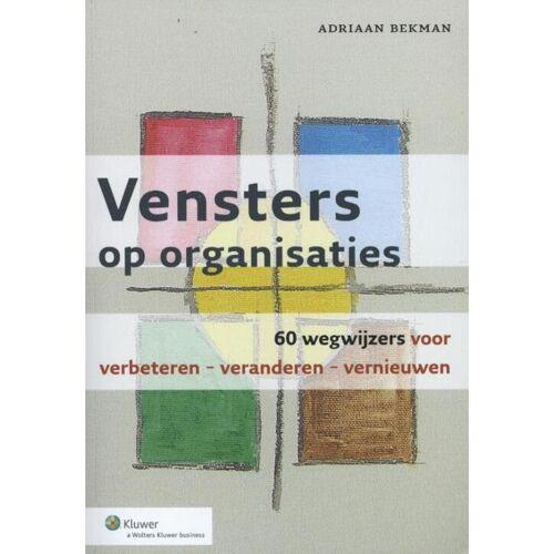 Vensters op organisaties - (ISBN: 9789013111620)
