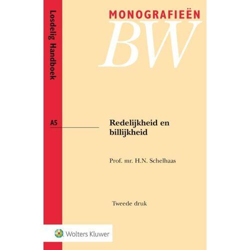 Redelijkheid en billijkheid - H.N. Schelhaas (ISBN: 9789013133530)