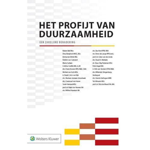 Het profijt van duurzaamheid - (ISBN: 9789013134179)