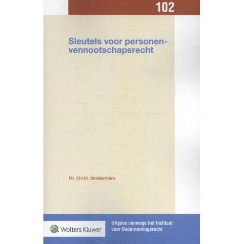 Sleutels voor personenvennootschapsrecht - Chr.M. Stokkermans (ISBN: 9789013143492)