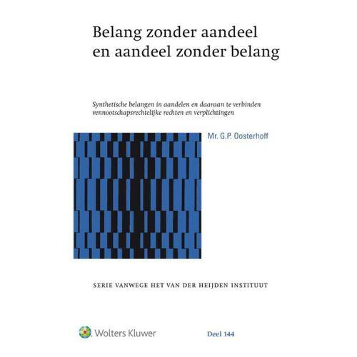 Belang zonder aandeel en aandeel zonder belang - G.P. Oosterhoff (ISBN: 9789013144734)