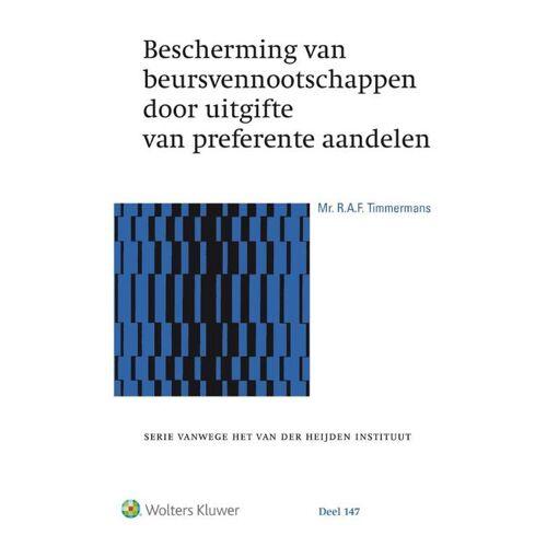 Bescherming van beursvennootschappen door uitgifte van preferente aandelen - R.A.F. Timmermans (ISBN: 9789013145342)