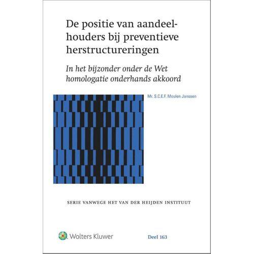 De positie van aandeelhouders bij preventieve herstructureringen - S.C.E.F. Moulen Janssen (ISBN: 9789013158670)
