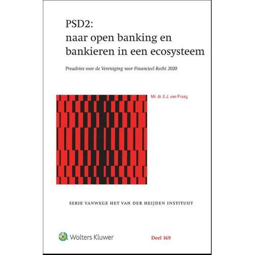 PSD2: naar open banking en bankieren in een ecosysteem - E.J. van Praag (ISBN: 9789013160369)
