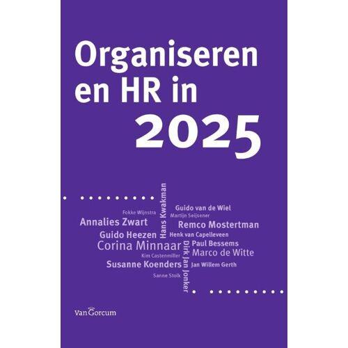 Organiseren en HR in 2025 - (ISBN: 9789023249986)
