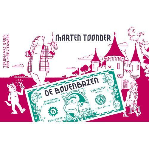 De bovenbazen - Marten Toonder (ISBN: 9789023474081)