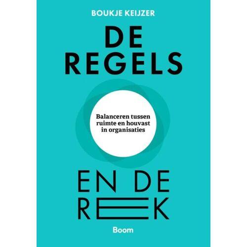 SET boek + kaarten De regels en de rek - Boukje Keijzer (ISBN: 9789024443741)