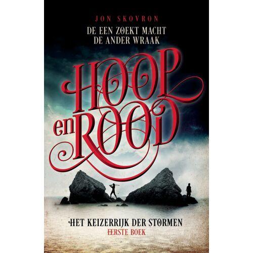 Het Keizerrijk der Stormen 1 - Hoop en Rood - Jon Skovron (ISBN: 9789024573721)