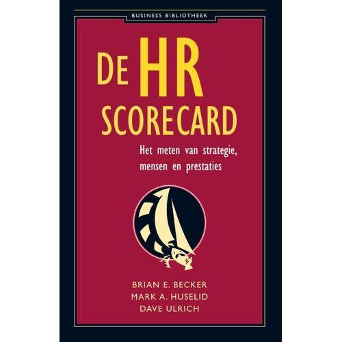 De HR-Scorecard - Brian E. Becker, Dave Ulrich, Mark A. Huselid (ISBN: 9789025415044)