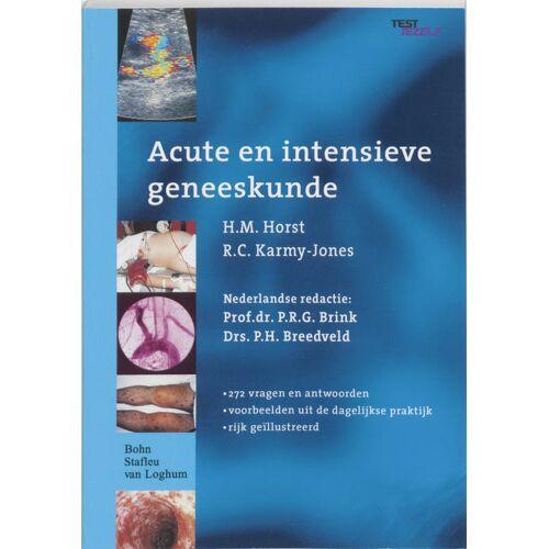 Acute en intensieve geneeskunde - H.M. Horst, R.C. Karmy-Jones (ISBN: 9789031348930)