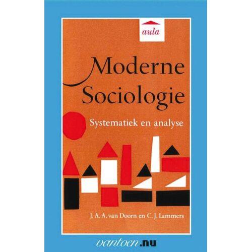 Moderne Sociologie - J.A.A. van Doorn (ISBN: 9789031505944)
