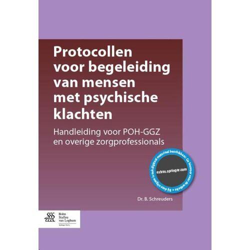 Protocollen voor begeleiding van mensen met psychische klachten - B. Schreuders (ISBN: 9789036809566)
