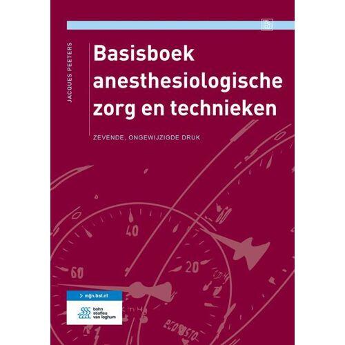 Basisboek anesthesiologische zorg en technieken - Jacques Peeters (ISBN: 9789036811866)