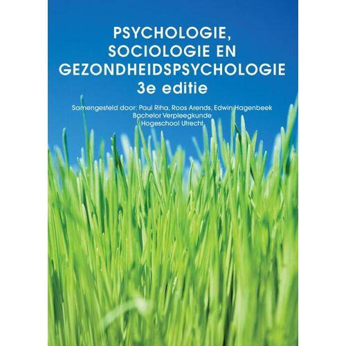 Psychologie, sociologie en gezondheidspsychologie, custom editie - Paul Riha, Roos Arends (ISBN: 9789043038829)