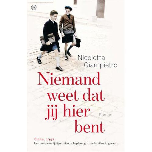 Niemand weet dat jij hier bent - Nicoletta Giampietro (ISBN: 9789044363531)