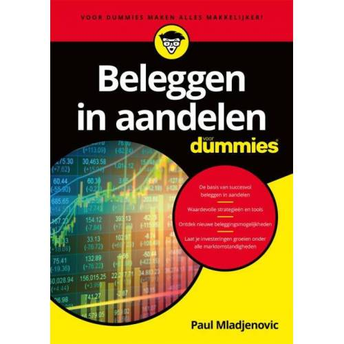Beleggen in aandelen voor dummies - Paul Mladjenovic (ISBN: 9789045353937)