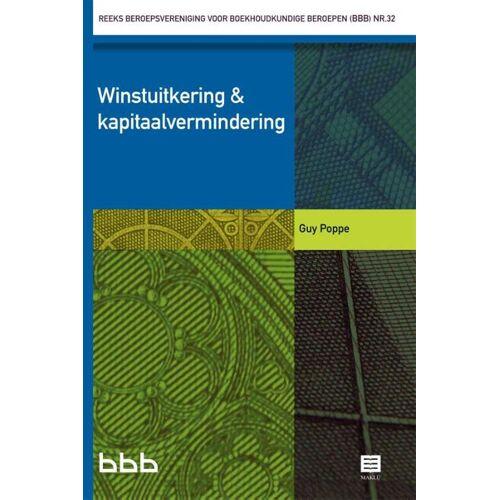 Winstuitkering & kapitaalvermindering - Guy Poppe (ISBN: 9789046608722)