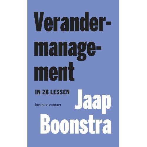 Verandermanagement in 28 lessen - Jaap Boonstra (ISBN: 9789047006329)