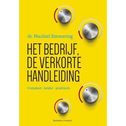 Het bedrijf - Machiel Emmering (ISBN: 9789047008163)