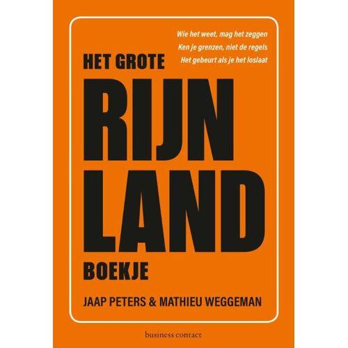 Het Grote Rijnlandboekje - Jaap Peters, Mathieu Weggeman (ISBN: 9789047013051)