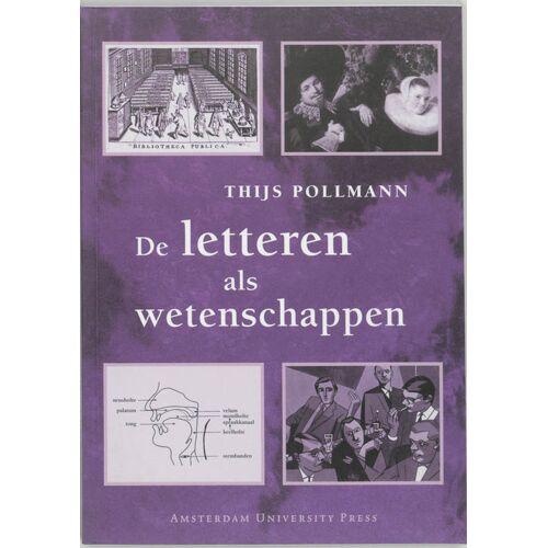 De letteren als wetenschappen - Thijs Pollmann (ISBN: 9789053563939)