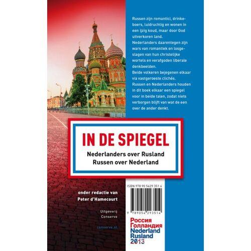 In de spiegel - Nederlanders over Russen - Russen over Nederlanders - (ISBN: 9789054293514)