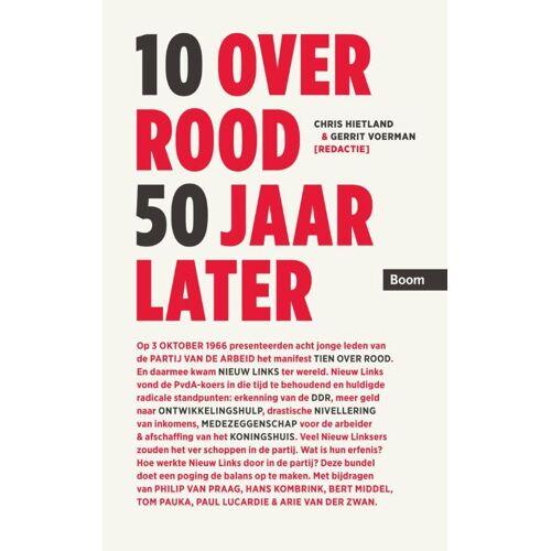 10 Over Rood 50 Jaar Later - (ISBN: 9789058755919)