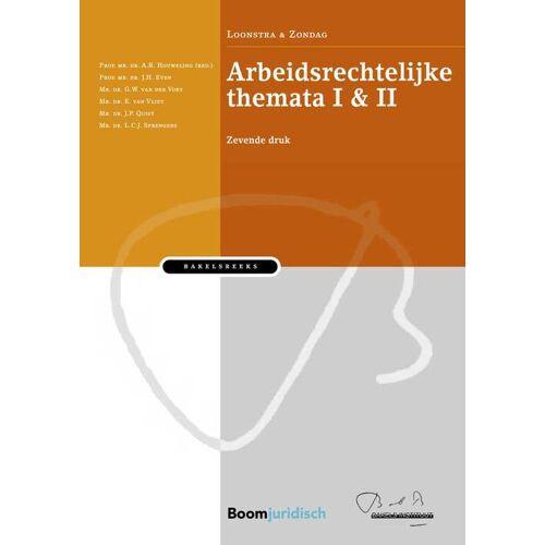 Arbeidsrechtelijke themata - E. van Vliet (ISBN: 9789059312081)
