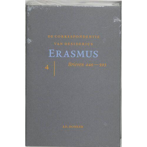 De correspondentie van Desiderius Erasmus IV - D. Erasmus (ISBN: 9789061005902)