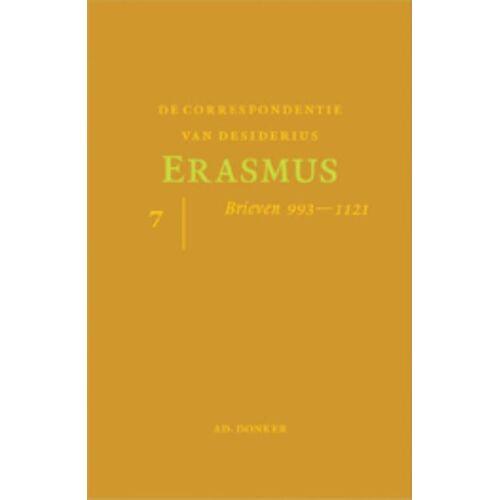 De correspondentie van Desiderius Erasmus 7 - Desiderius Eramus (ISBN: 9789061006428)