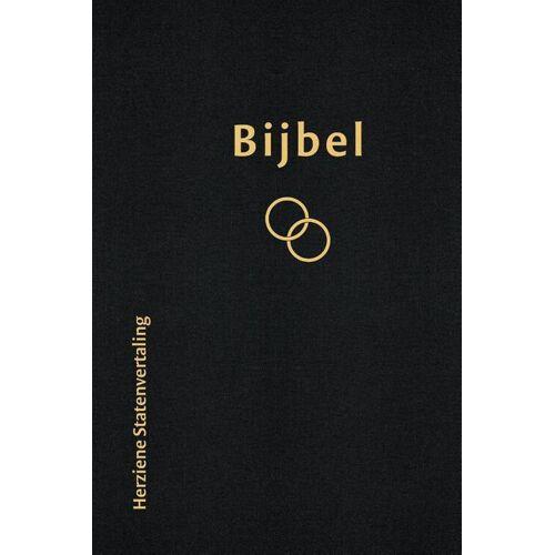 Bijbel Huwelijksbijbel Herziene Statenvertaling zwart - (ISBN: 9789065394279)