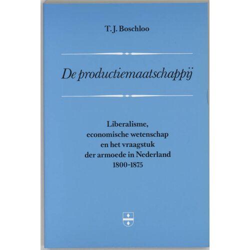 De productiemaatschappij - H. Boschloo (ISBN: 9789065503305)
