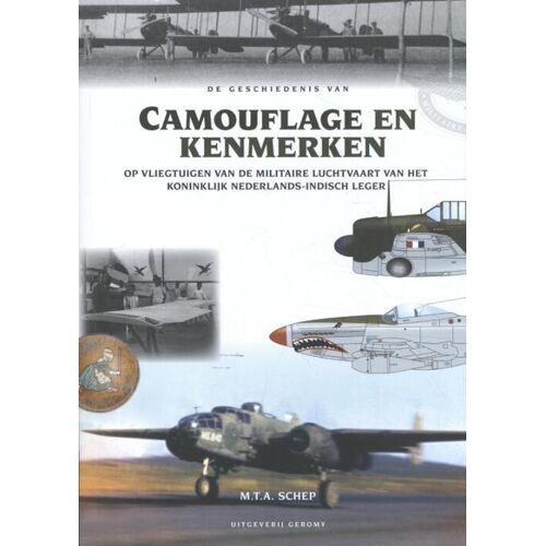 De geschiedenis van Camouflage en Kenmerken - M.T. A Schep (ISBN: 9789082858129)