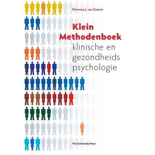 Klein methodenboek klinische en gezondheidspsychologie - F.J. van Zuuren (ISBN: 9789086594269)