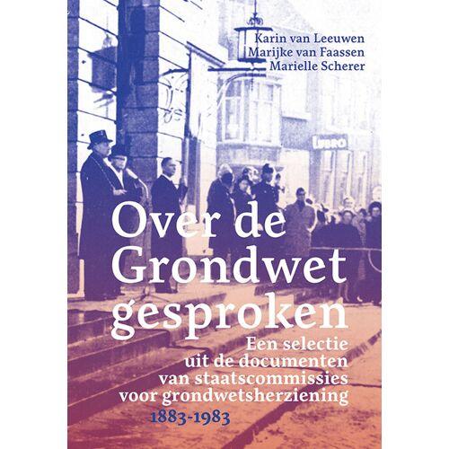 Over de grondwet gesproken - (ISBN: 9789087048709)