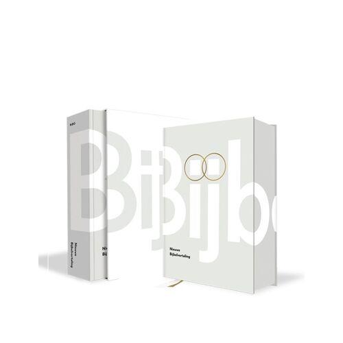 Bijbel Nieuwe Bijbelvertaling - luxe huwelijkseditie - (ISBN: 9789089120168)