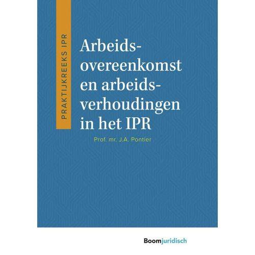 Arbeidsovereenkomst en arbeidsverhoudingen in het IPR - J.A. Pontier (ISBN: 9789460945137)