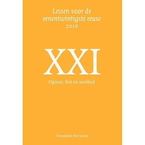 Opinie, feit en oordeel - (ISBN: 9789461663382)