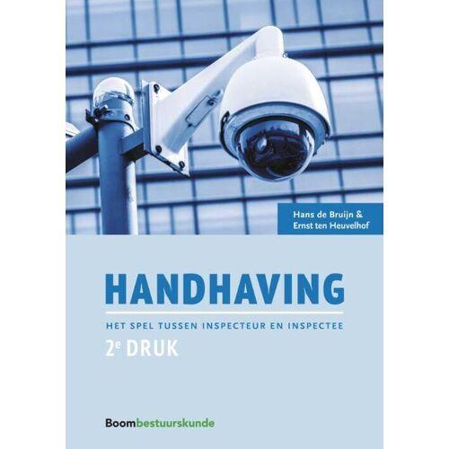 Handhaving - Ernst ten Heuvelhof, Hans de Bruijn (ISBN: 9789462366664)
