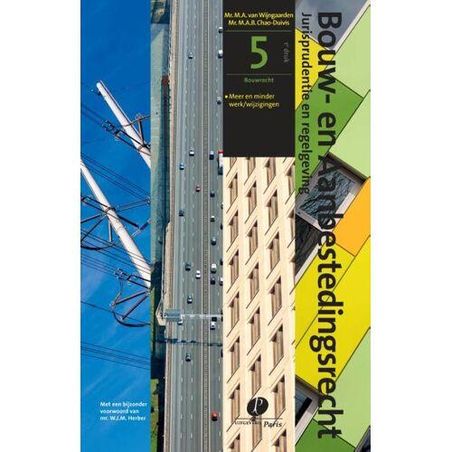 Bouwrecht - M.A.B. Chao-Duivis, M.A. van Wijngaarden (ISBN: 9789462511996)