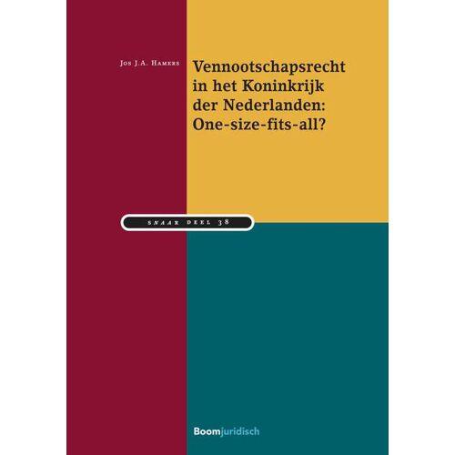 Vennootschapsrecht in het Koninkrijk der Nederlanden: One-size-fits-all? - Jos J.A. Hamers (ISBN: 9789462908093)