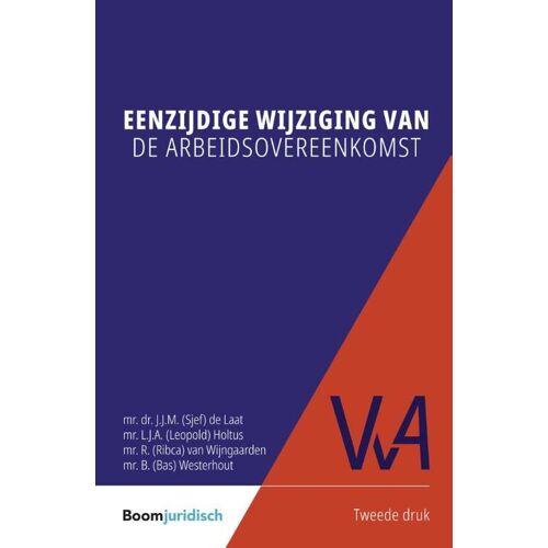 Eenzijdige wijziging van de arbeidsovereenkomst - Bas Westerhout (ISBN: 9789462908475)