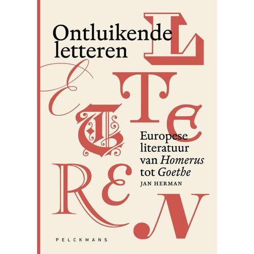 Ontluikende letteren - Jan Herman (ISBN: 9789463370837)