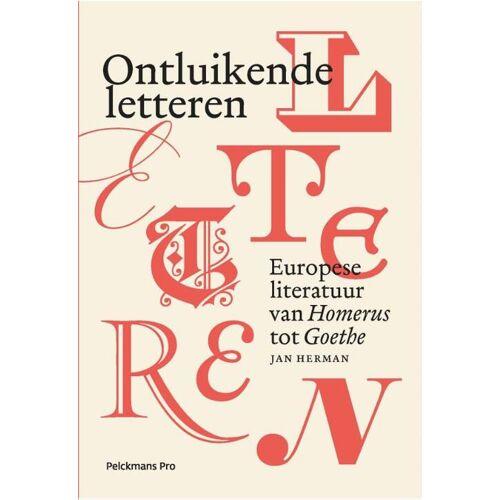 Ontluikende letteren - Jan Herman (ISBN: 9789463371025)
