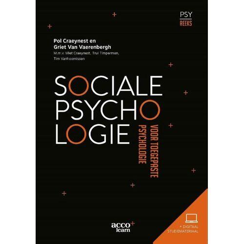 Sociale Psychologie voor toegepaste psychologie - Griet van Vaerenbergh (ISBN: 9789463792851)