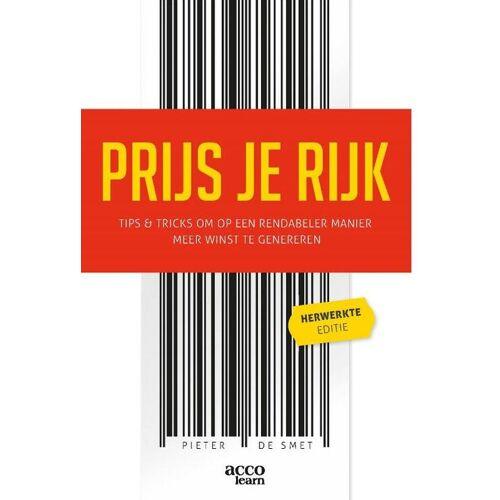 Prijs je rijk - Pieter de Smet (ISBN: 9789463797993)